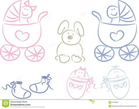 Baby Doodles Stock Images Image 4749694