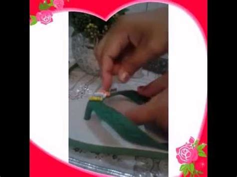Jepit Rajutan Handmade cara menghias sendal jepit