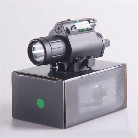 picatinny light and laser brand new 200 lumen tactical pistol led flashlight green