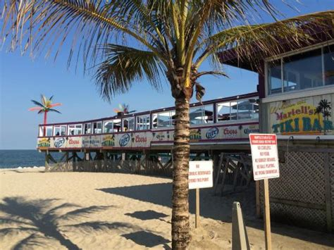 Patio Bar Point Pleasant New Jersey by Place Picture Of Martell S Tiki Bar Point Pleasant
