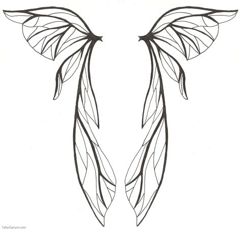 fairy wings tattoo how to draw wings lilzeu de picture 6107
