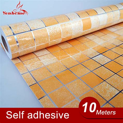 self adhesive 10m lot pvc aluminum foil self adhesive stickers for