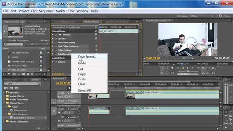youtube tutorial adobe premiere pro cs5 adobe premiere pro cs5 cs5 5 tutorial how to make a
