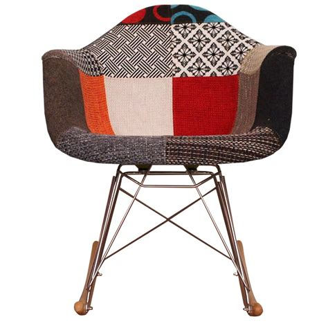 Patchwork Fabric Chair - patchwork fabric rar style chair from only home