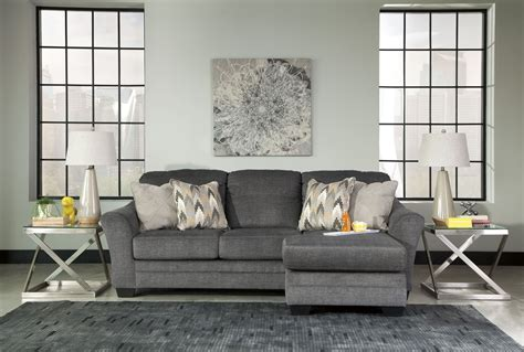 Sofa At Furniture by Braxlin Charcoal Sofa Chaise From 8850218