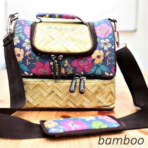 Gabag Cooler Bag Bamboo cooler bag gabag ethnic bamboo bungaasi