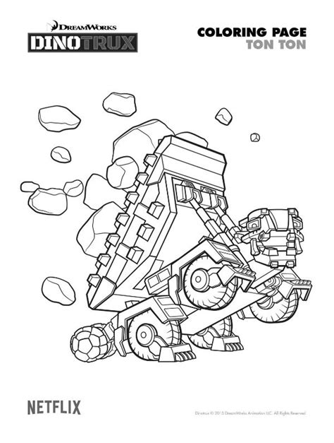 dino truck coloring page 17 best images about dino trux party on pinterest