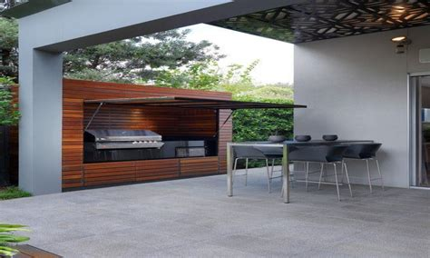Barbecue Moderno Design by Terrace Designs Pictures Modern Outdoor Bbq Design Ideas