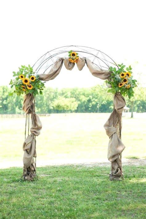 Wedding Arch Lace by Hobby Lobby Burlap Wedding Arch Simple Birch Lace Wedding