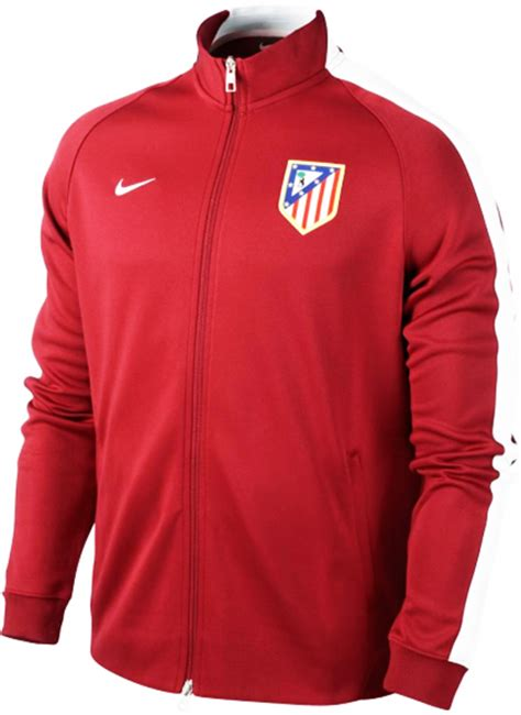 jersey player issue atletico madrid 2014 2015 big match jaket atletico madrid n98 red 2014 2015 big match