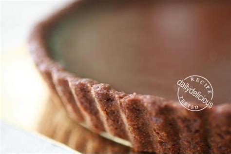 Pie Tart 18cm dailydelicious deeply satisfied chocolate tart