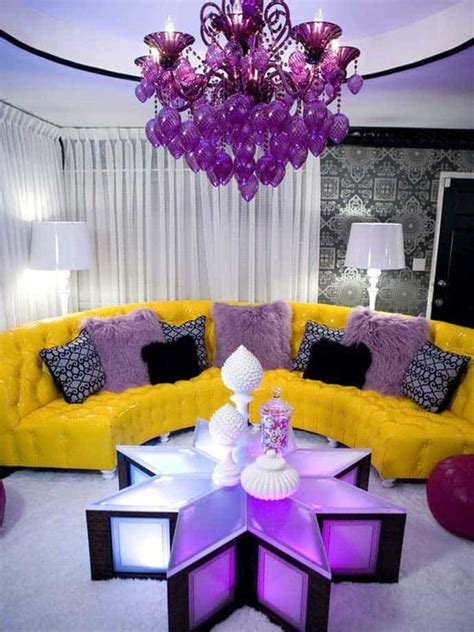 purple home decor ideas electric purple interiors are not for everyone