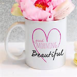 Valentine S Day Gift Ideas For Him personalised good morning beautiful mug at toxicfox co uk