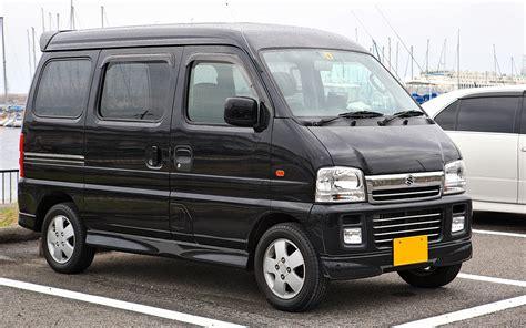 suzuki every modified 1300 kilometer met een elektrische suzuki busje