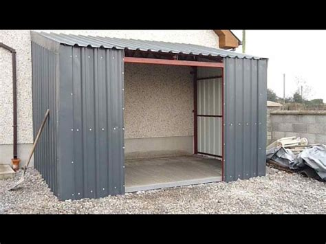 building  lean  shed youtube