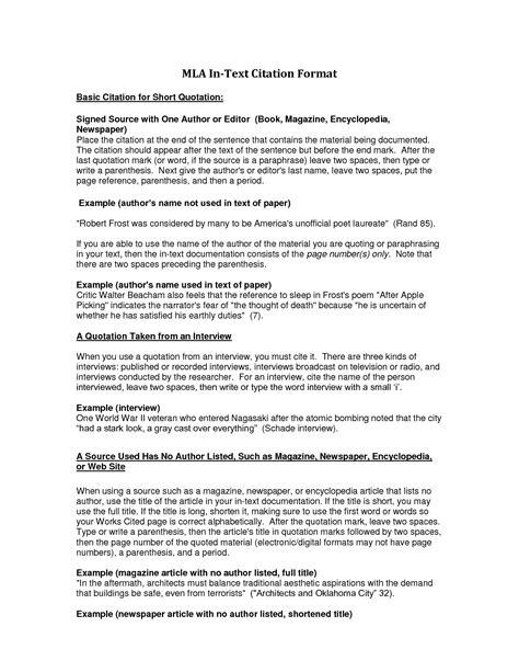 mla footnote citation format term paper service hthomeworkiiyg