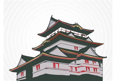 japanese house   vector art stock graphics