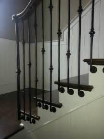 banister spindles metal metal baluster custom stairs artistic stairs