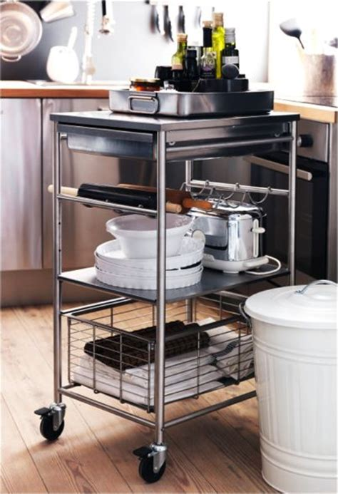 our new grundtal kitchen cart makes for a perfect kitchen helper for tracy pinterest