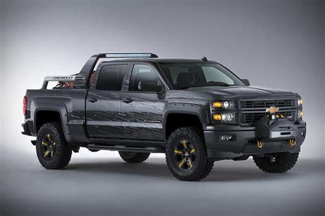 chevy concept truck chevrolet silverado black ops concept survival truck