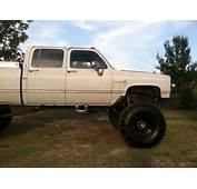 Buy Used 1986 Chevy 3500 K30 4X4 Lifted Monster Truck 4