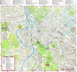 rome map detailed city and metro maps of rome for