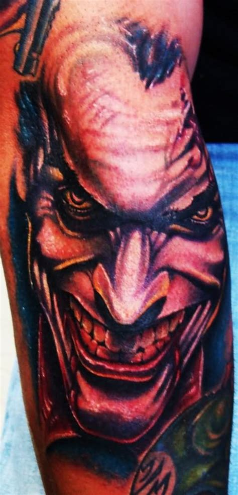 gangster joker tattoo designs 55 cool joker tattoos
