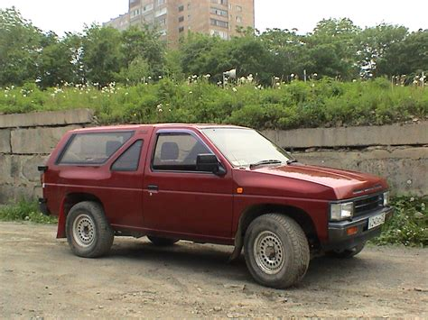 nissan terrano 1990 1990 nissan terrano photos informations articles