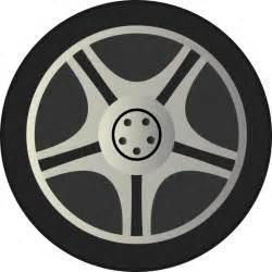 Truck Wheels Clipart Clipart Simple Car Wheel Tire Rims Side View
