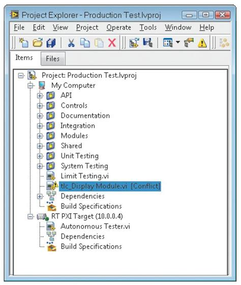 reduce development time   enhanced labview project