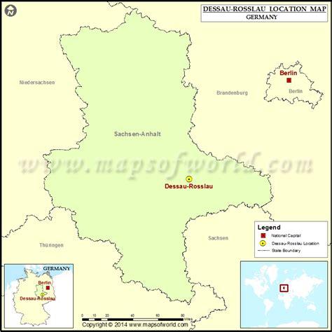 dessau map dessau germany map images