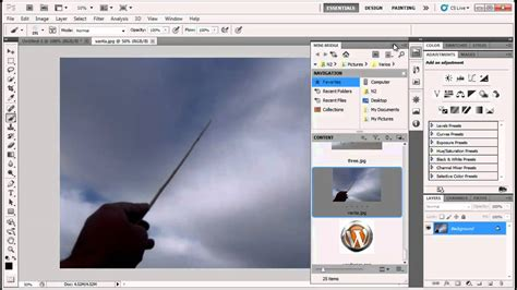 principales efectos de photoshop cs5 asktutorial photoshop cs5 efecto de varita magica youtube