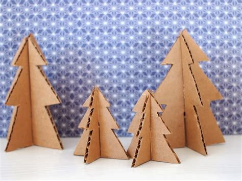 christmas tree cardboard pattern make mini christmas trees from pipe cleaners and cardboard
