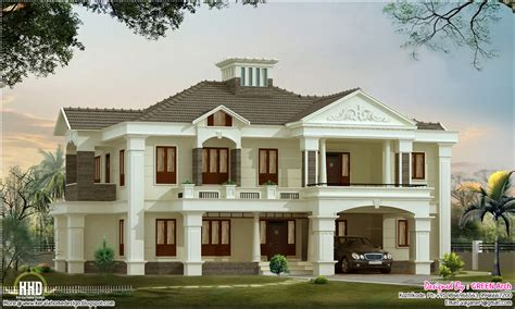 luxury home plans with pictures 4 bedroom luxury home design kerala home design and