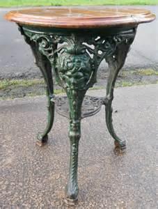victorian cast iron pub table 249125 sellingantiques co uk