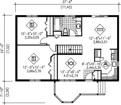 900 sq ft floor plans traditional style house plan 2 beds 1 baths 900 sq ft
