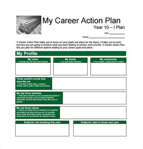 career plan templates career plan template 12 free word excel pdf