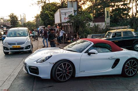porsche cars india porsche launches the boxster gts and cayman gts in india