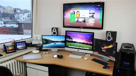 Computer Setup Ideas by My Ultimate Editing And Gaming Set Up Tour V2 0 Youtube