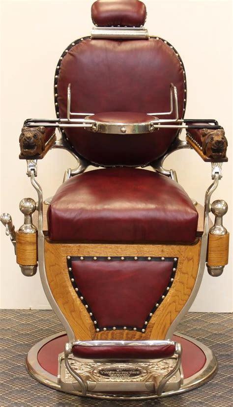 Theo A Kochs Barber Chair by Theo A Kochs Hydraulic Barber Chair