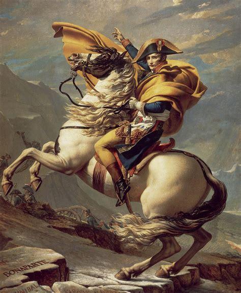 Napoleon Crossing the Alps   Wikipedia