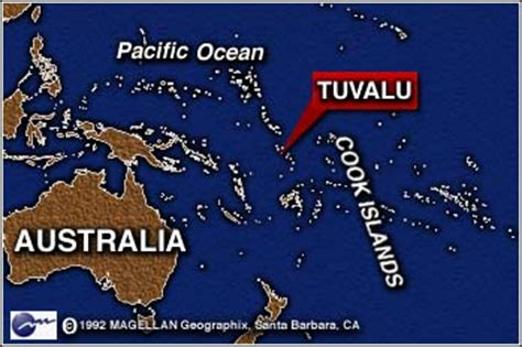 tuvalu on world map cnn australia in water global warming stance