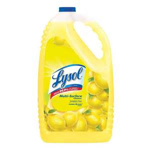 lysol 144 oz lemon breeze all purpose cleaner 36241 75610