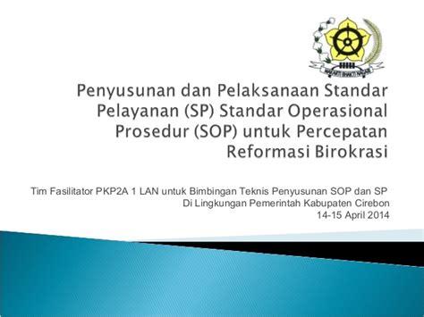 Sho Nr Untuk Ketombe standar operasional prosedur standar pelayanan dan percepatan reform