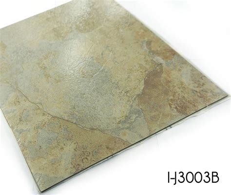 stone ceramic pattern self adhesive vinyl tile