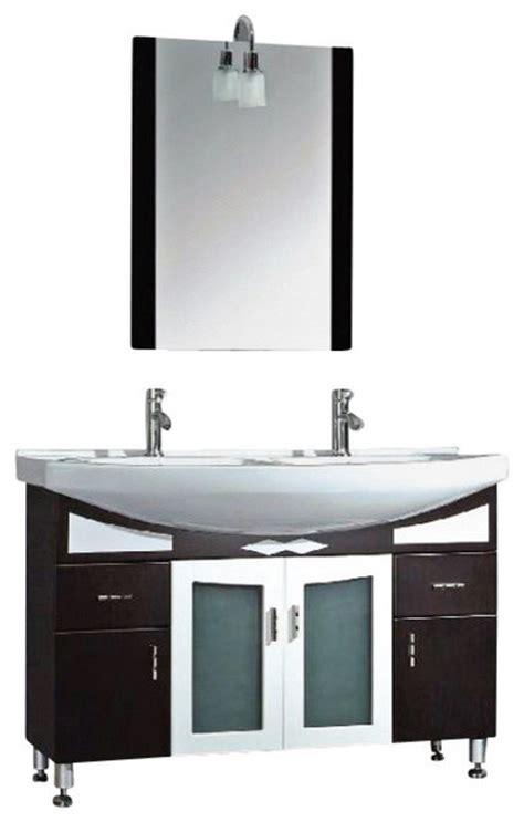 48 inch double vanity set 48 inch black cherry wood porcelain double bathroom