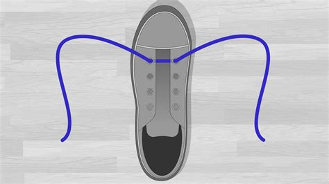 Como Shoes by 6 Ways To Lace Shoes Wikihow