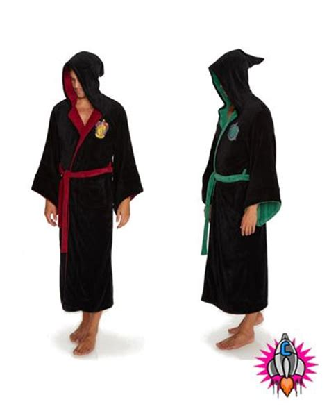 harry potter robes official official harry potter luxurious fleece hooded bath robe