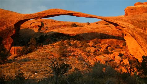 Landscape Arch In Arches National Park Panoramio Photo Of Landscape Arch Arches