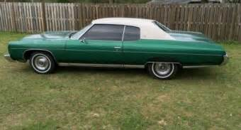 1973 Chevrolet Caprice For Sale 1973 Chevrolet Caprice Green For Sale Ebay Used Cars For